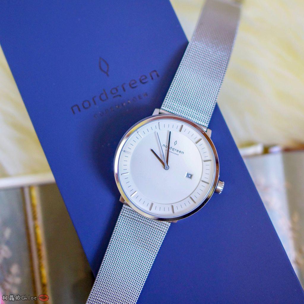 丹麥手錶 來自北歐的極簡時尚Nordgreen 40mm哲學家大錶盤 簡約實戴 我的穿搭好朋友55.jpg