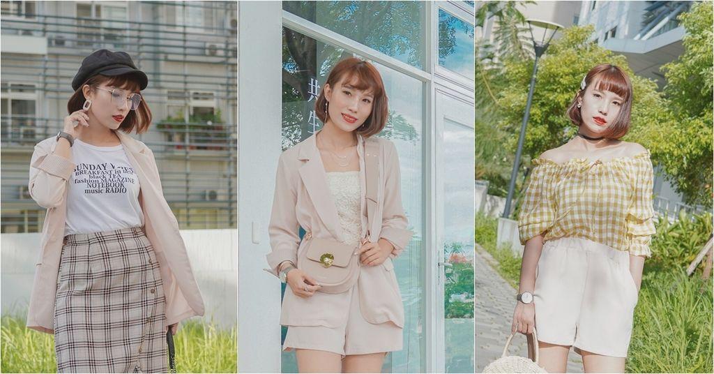 服飾穿搭 歐膩必入手 質感SecretB雪紡西裝套裝 多款穿法~重複穿搭不NG.jpg