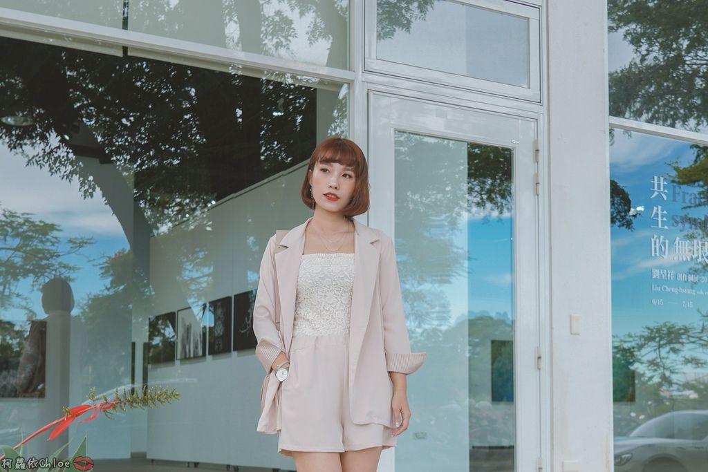 服飾穿搭 歐膩必入手 質感SecretB雪紡西裝套裝 多款穿法~重複穿搭不NG8.jpg