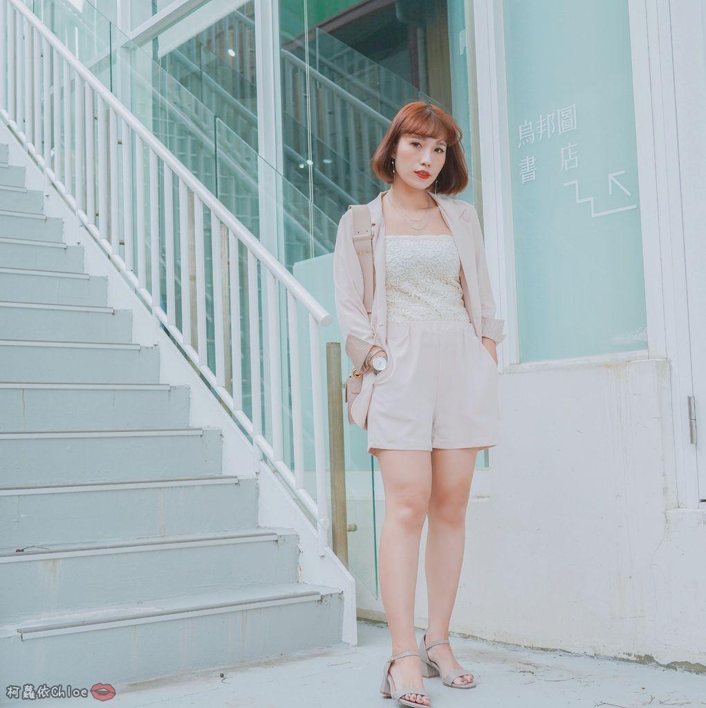 服飾穿搭 歐膩必入手 質感SecretB雪紡西裝套裝 多款穿法~重複穿搭不NG11.jpg