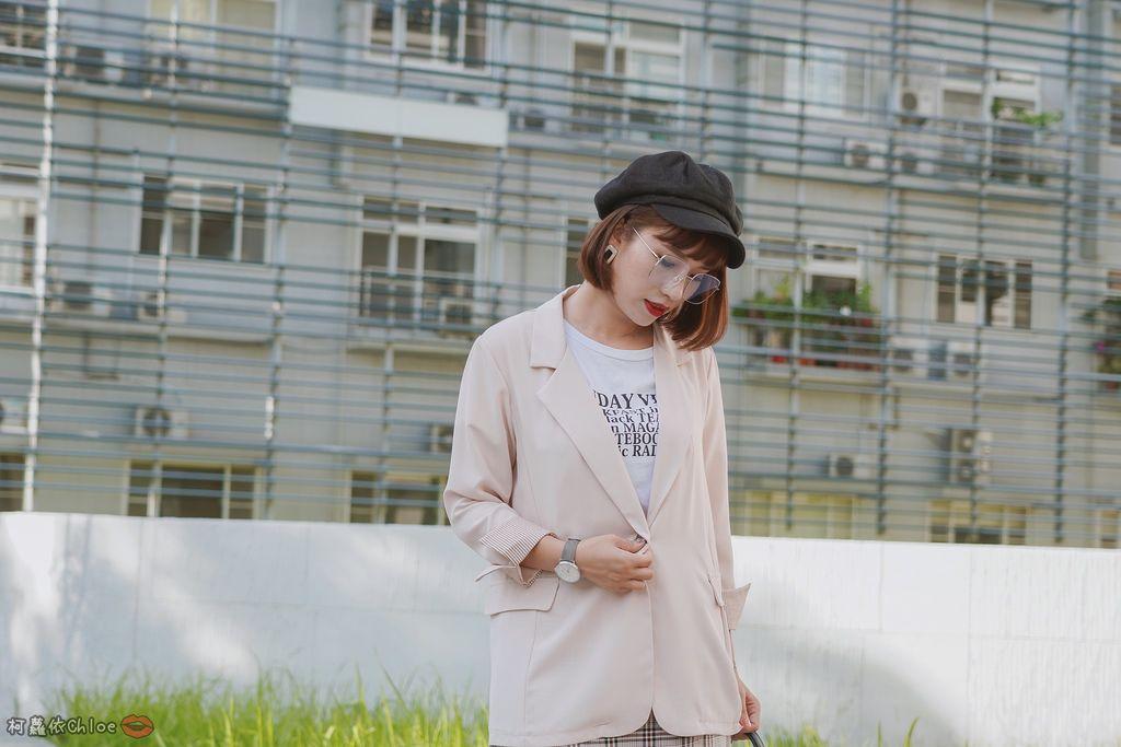 服飾穿搭 歐膩必入手 質感SecretB雪紡西裝套裝 多款穿法~重複穿搭不NG19.JPG