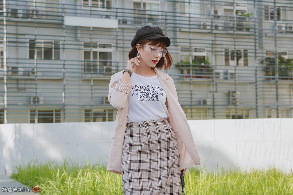 服飾穿搭 歐膩必入手 質感SecretB雪紡西裝套裝 多款穿法~重複穿搭不NG20.JPG