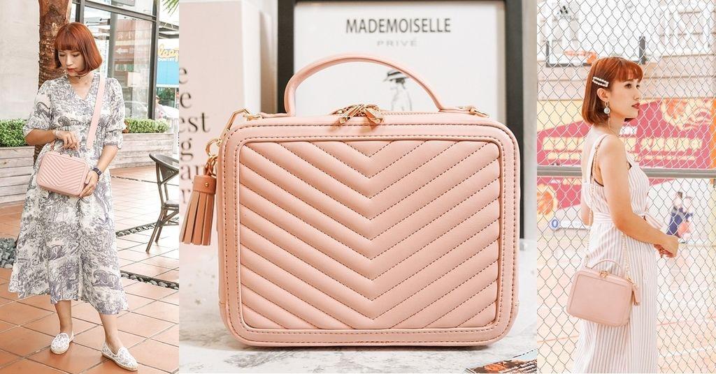 包X穿搭 粉嫩仙女系小資包款!ROBINMAY魔法貝兒手提包 雙側面 附兩款背帶變換 .jpg