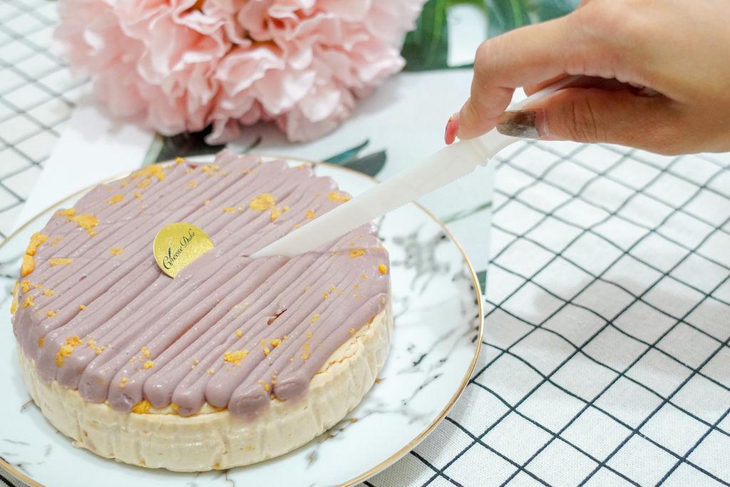 中秋伴手禮推薦 濃郁乳酪蛋糕 台南起士公爵紫芋金沙乳酪蛋糕 限量甜點過中秋9.jpg