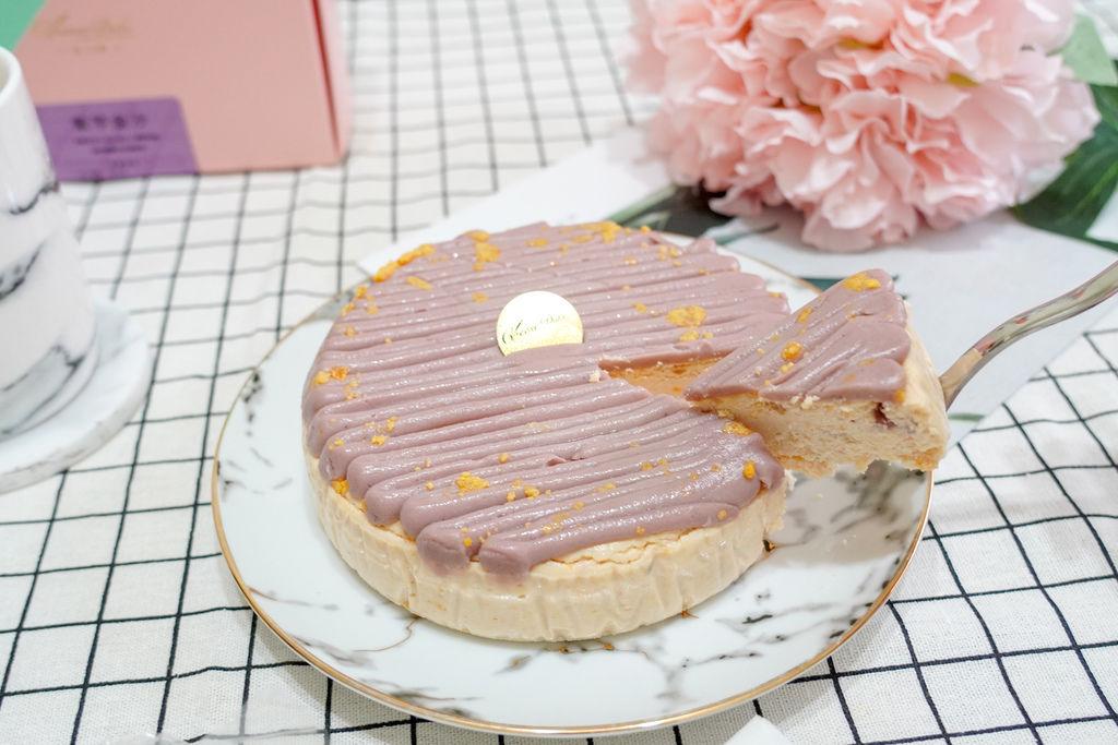 中秋伴手禮推薦 濃郁乳酪蛋糕 台南起士公爵紫芋金沙乳酪蛋糕 限量甜點過中秋10.jpg