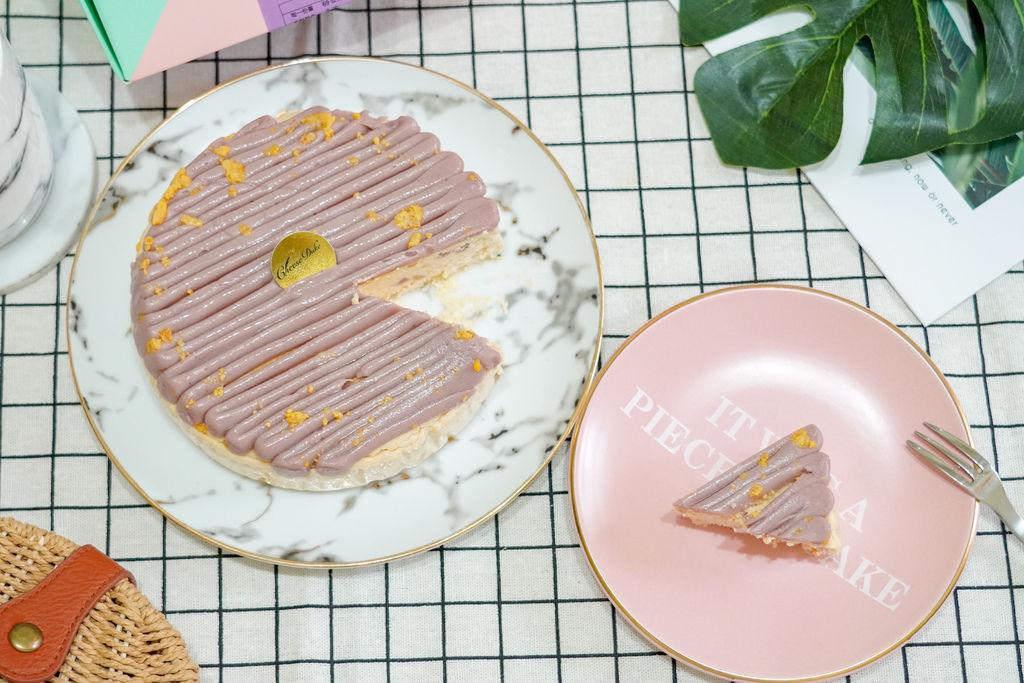 中秋伴手禮推薦 濃郁乳酪蛋糕 台南起士公爵紫芋金沙乳酪蛋糕 限量甜點過中秋16.jpg