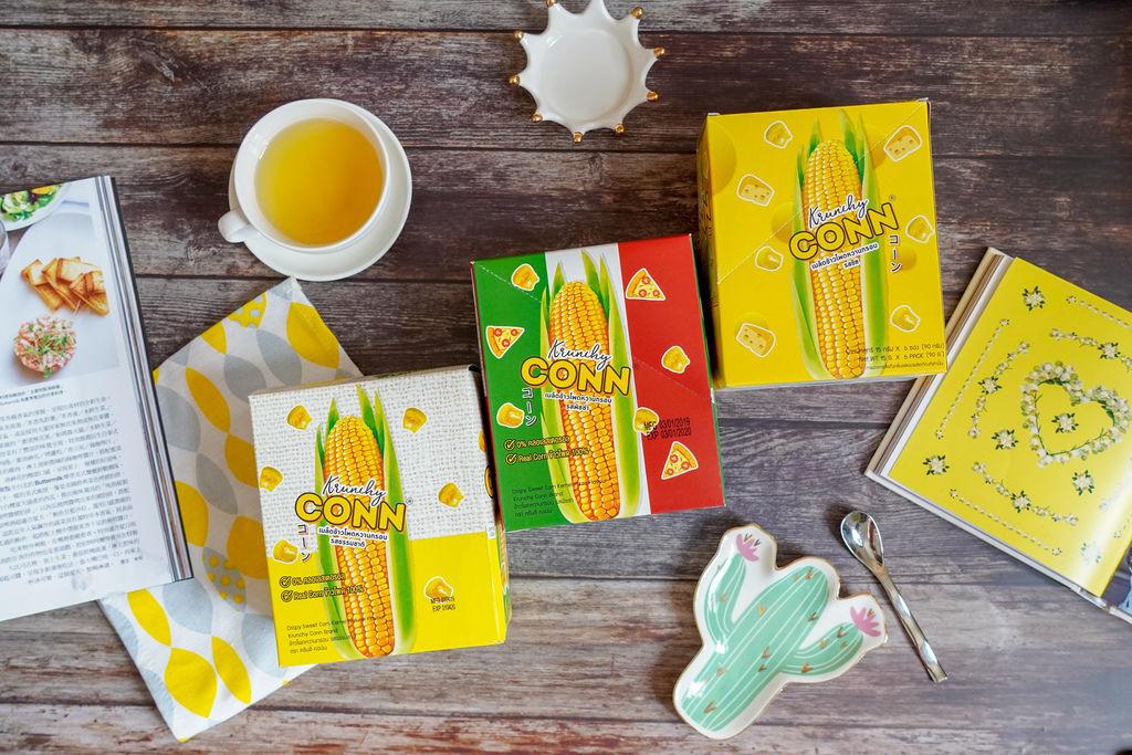 點心 卡滋卡滋~泰國CONN香脆玉米粒 口感脆而不膩 三款超人氣口味好涮嘴1.jpg