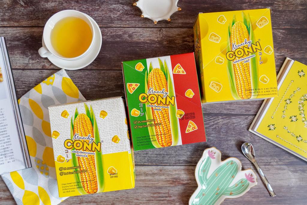 點心 卡滋卡滋~泰國CONN香脆玉米粒 口感脆而不膩 三款超人氣口味好涮嘴3.jpg