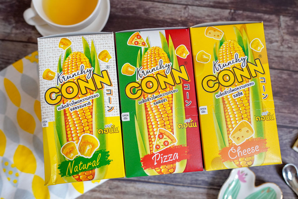 點心 卡滋卡滋~泰國CONN香脆玉米粒 口感脆而不膩 三款超人氣口味好涮嘴2.jpg