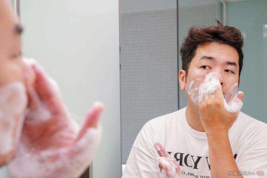 型男保養 男研堂多爪毛孔深卸液胺基酸多功能洗面乳 清潔多一步驟 油光OUT  清爽淨透有面子21.jpg