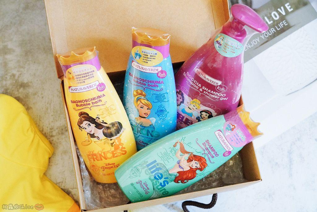 兒童洗沐 義大利自然之綠-公主洗髮沐浴泡泡組 四歲以上的小公主們最愛1.jpg