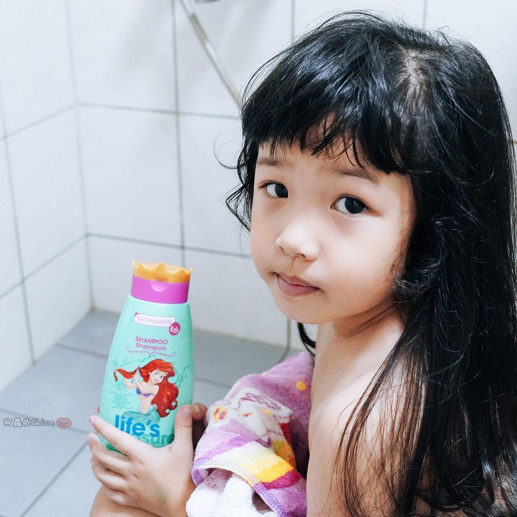 兒童洗沐 義大利自然之綠-公主洗髮沐浴泡泡組 四歲以上的小公主們最愛2C.jpg