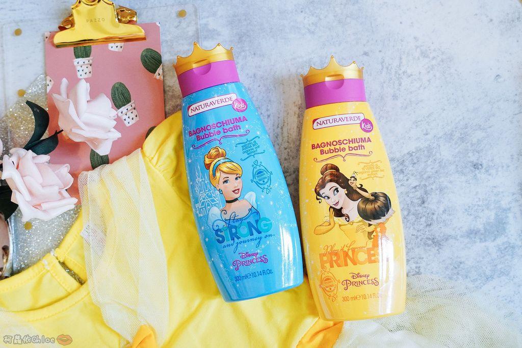 兒童洗沐 義大利自然之綠-公主洗髮沐浴泡泡組 四歲以上的小公主們最愛3.jpg