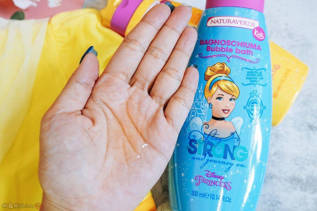 兒童洗沐 義大利自然之綠-公主洗髮沐浴泡泡組 四歲以上的小公主們最愛4.jpg