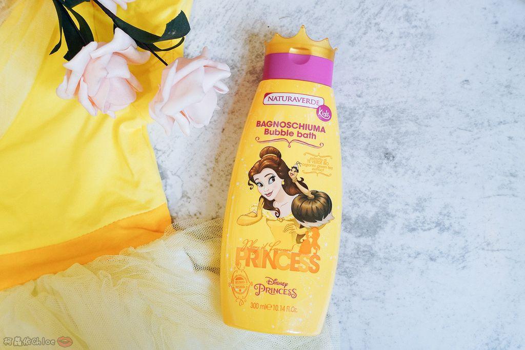 兒童洗沐 義大利自然之綠-公主洗髮沐浴泡泡組 四歲以上的小公主們最愛6.jpg