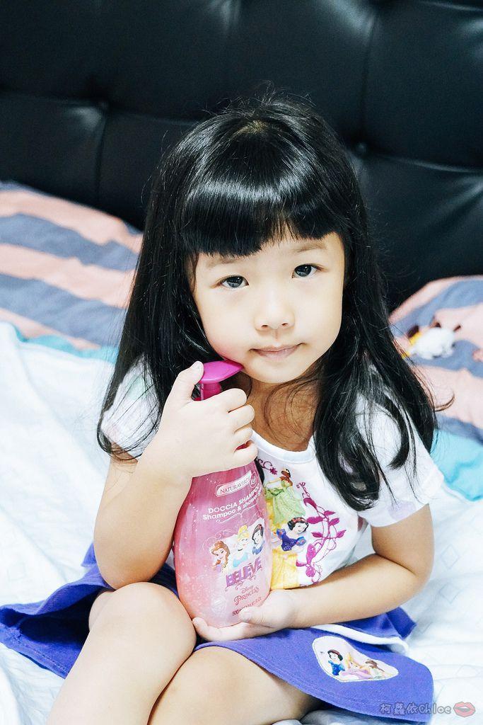 兒童洗沐 義大利自然之綠-公主洗髮沐浴泡泡組 四歲以上的小公主們最愛16.jpg