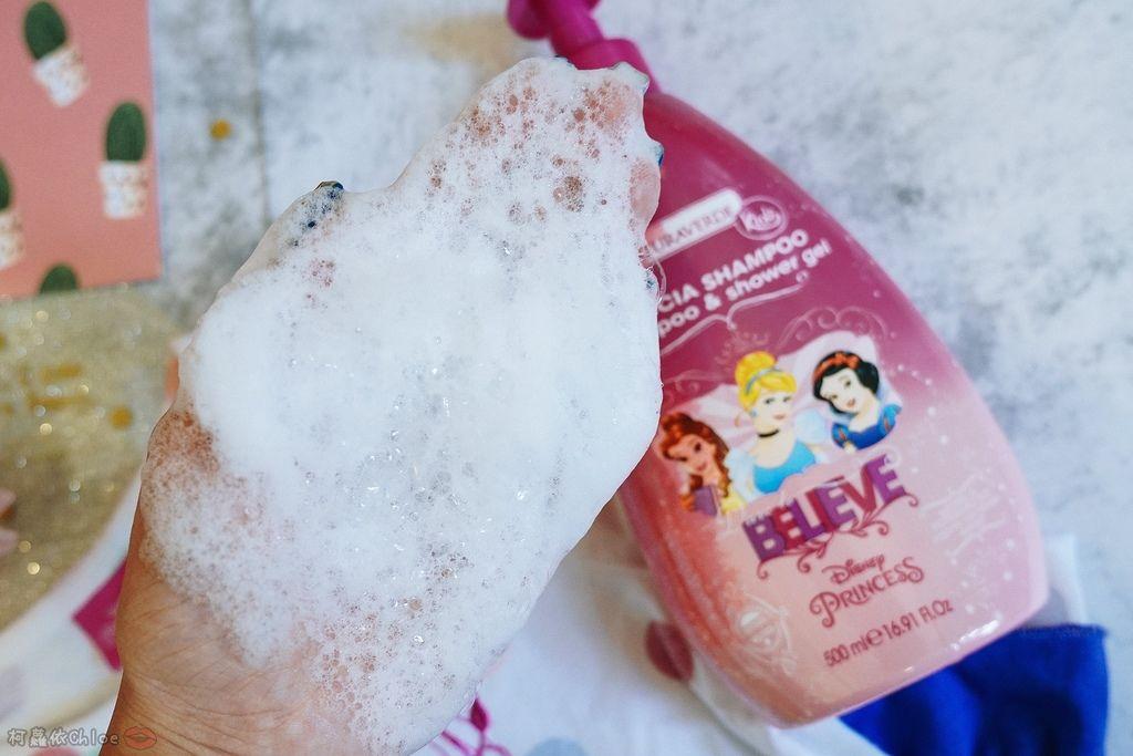 兒童洗沐 義大利自然之綠-公主洗髮沐浴泡泡組 四歲以上的小公主們最愛18.jpg