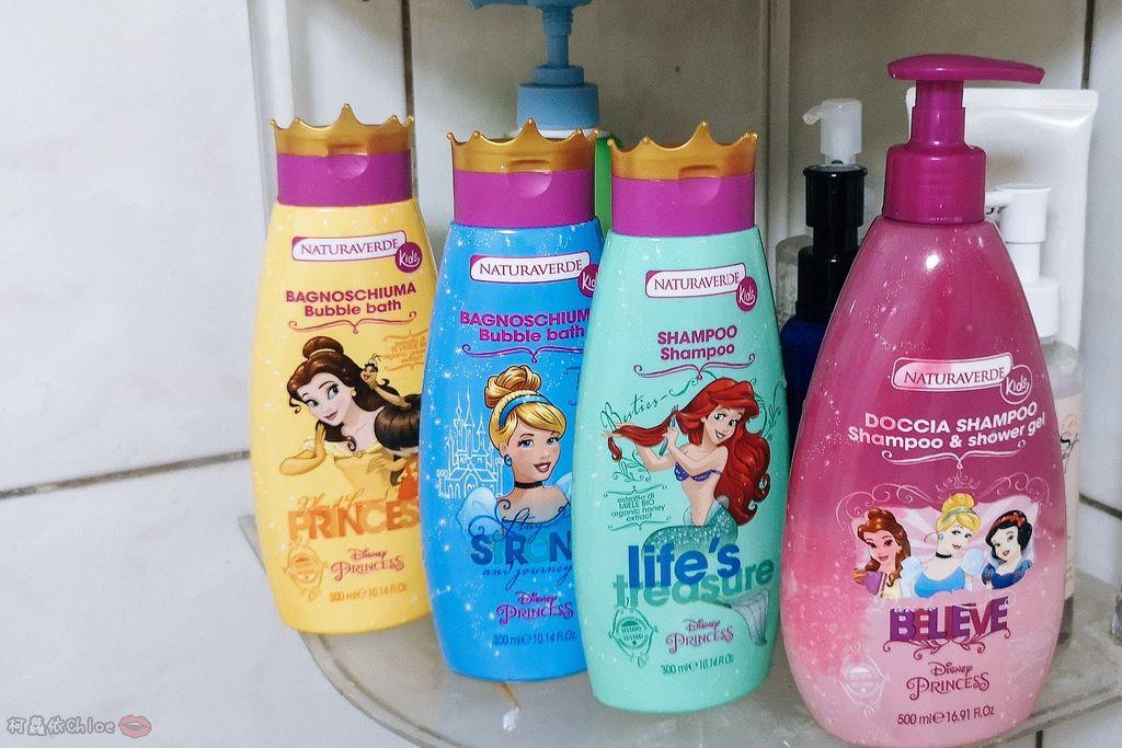 兒童洗沐 義大利自然之綠-公主洗髮沐浴泡泡組 四歲以上的小公主們最愛26.jpg
