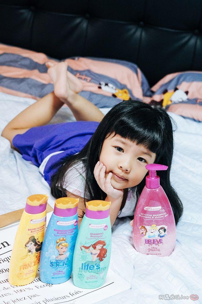 兒童洗沐 義大利自然之綠-公主洗髮沐浴泡泡組 四歲以上的小公主們最愛27.jpg