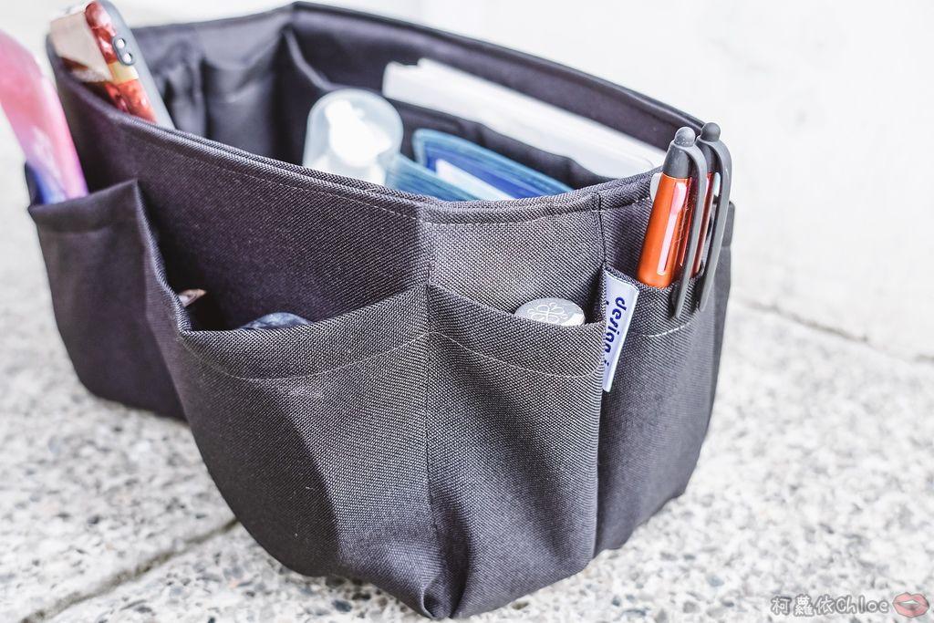 一次收納快速攜帶!CoolgDesign 袋中袋 解決了我收納問題 LV Speedy、Longchamp包適用3B.jpg