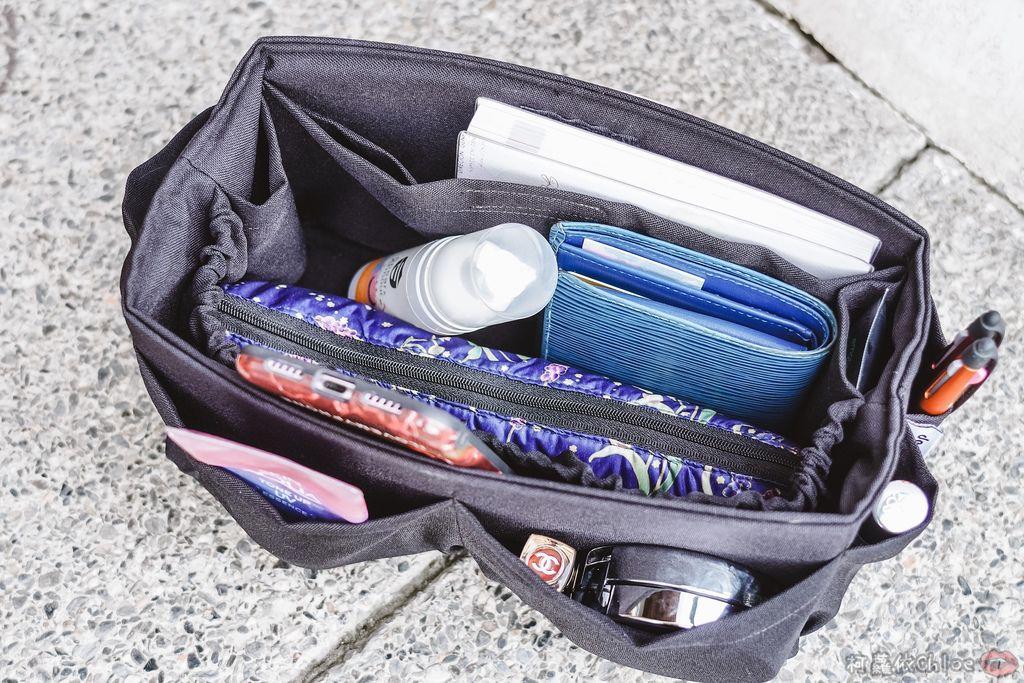 一次收納快速攜帶!CoolgDesign 袋中袋 解決了我收納問題 LV Speedy、Longchamp包適用3A.jpg