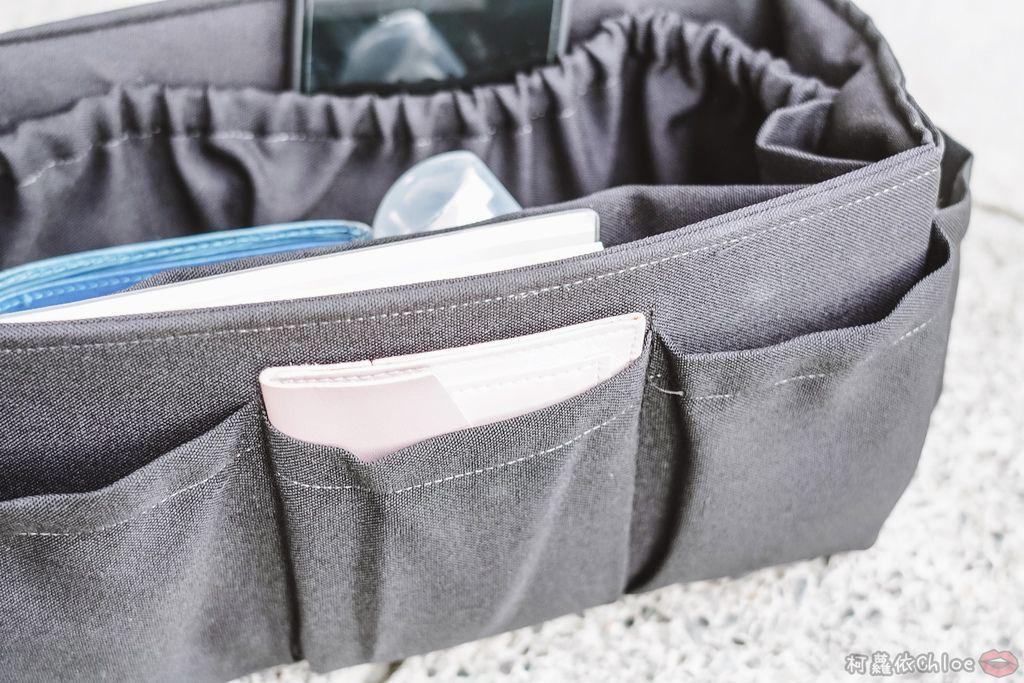 一次收納快速攜帶!CoolgDesign 袋中袋 解決了我收納問題 LV Speedy、Longchamp包適用3C.jpg