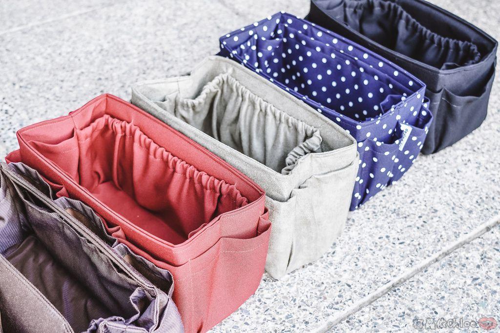 一次收納快速攜帶!CoolgDesign 袋中袋 解決了我收納問題 LV Speedy、Longchamp包適用7.jpg