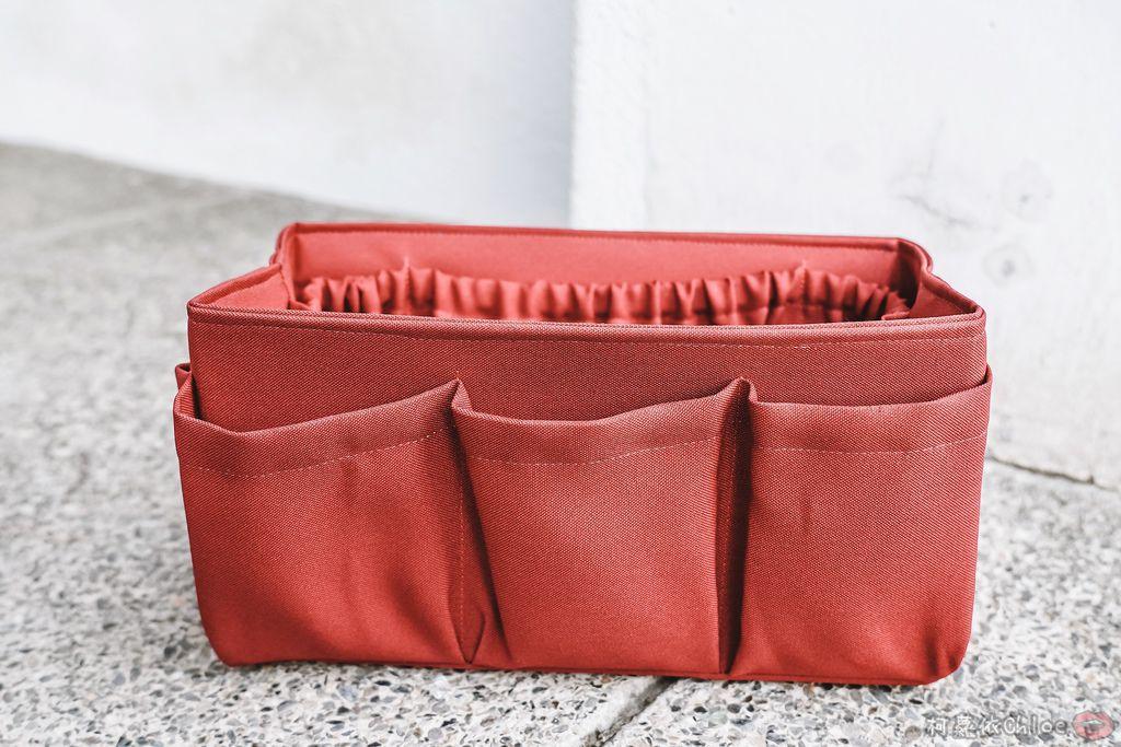 一次收納快速攜帶!CoolgDesign 袋中袋 解決了我收納問題 LV Speedy、Longchamp包適用12.jpg