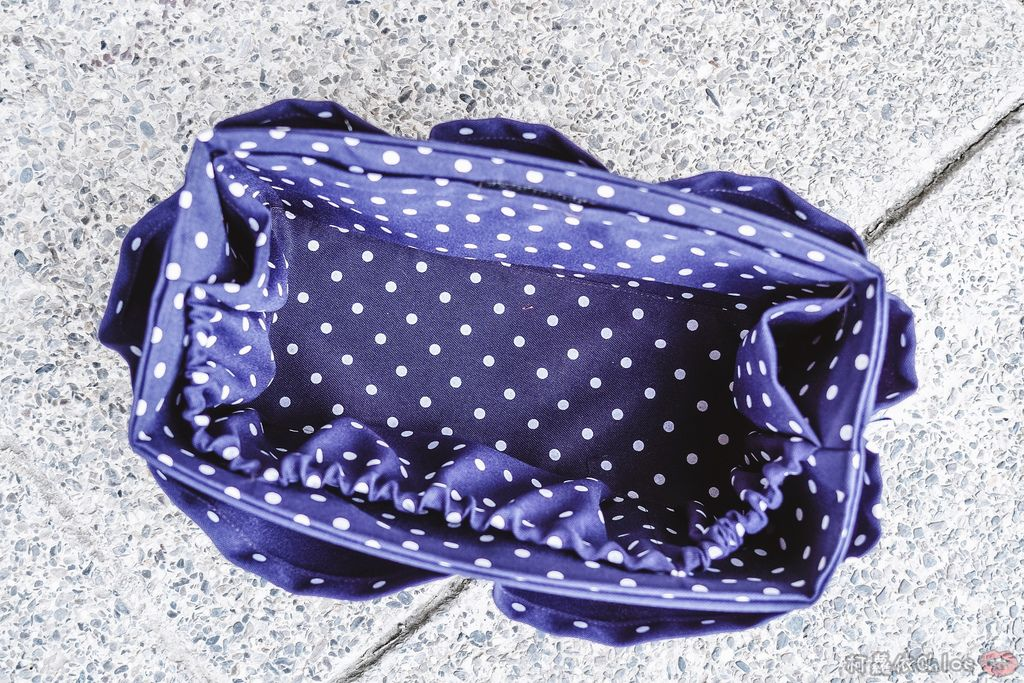 一次收納快速攜帶!CoolgDesign 袋中袋 解決了我收納問題 LV Speedy、Longchamp包適用10.jpg