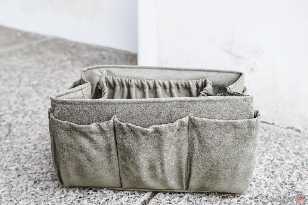 一次收納快速攜帶!CoolgDesign 袋中袋 解決了我收納問題 LV Speedy、Longchamp包適用14.jpg
