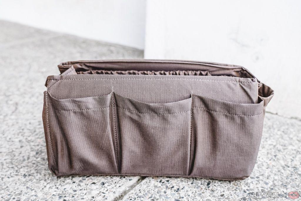 一次收納快速攜帶!CoolgDesign 袋中袋 解決了我收納問題 LV Speedy、Longchamp包適用13.jpg
