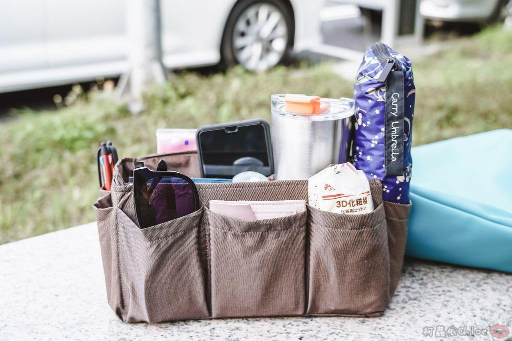 一次收納快速攜帶!CoolgDesign 袋中袋 解決了我收納問題 LV Speedy、Longchamp包適用16.jpg