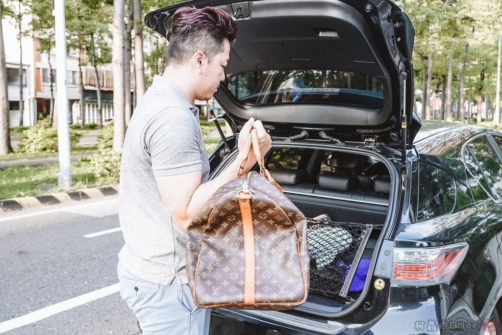 一次收納快速攜帶!CoolgDesign 袋中袋 解決了我收納問題 LV Speedy、Longchamp包適用24.jpg