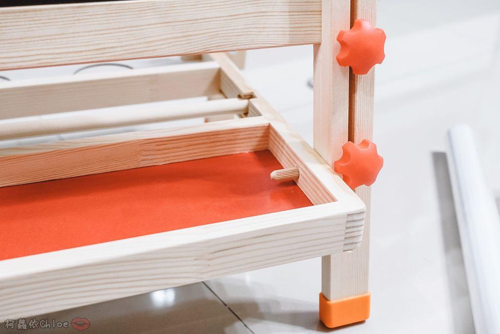 親子好物開箱 Teamson Kids小藝術家梵谷兒童雙面畫架-紅 高質感三用畫板 可調整高度 (限時開團8.jpg