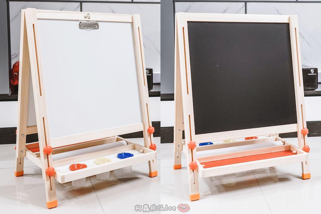 親子好物開箱 Teamson Kids小藝術家梵谷兒童雙面畫架-紅 高質感三用畫板 可調整高度 (限時開團10.jpg