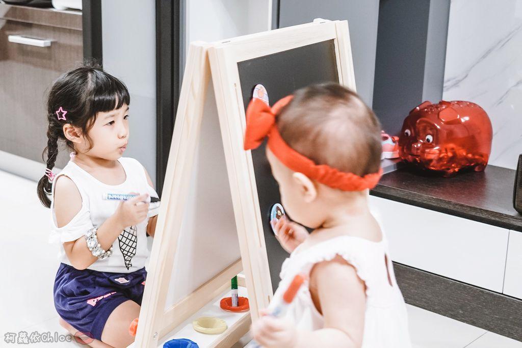 親子好物開箱 Teamson Kids小藝術家梵谷兒童雙面畫架-紅 高質感三用畫板 可調整高度 (限時開團15.jpg