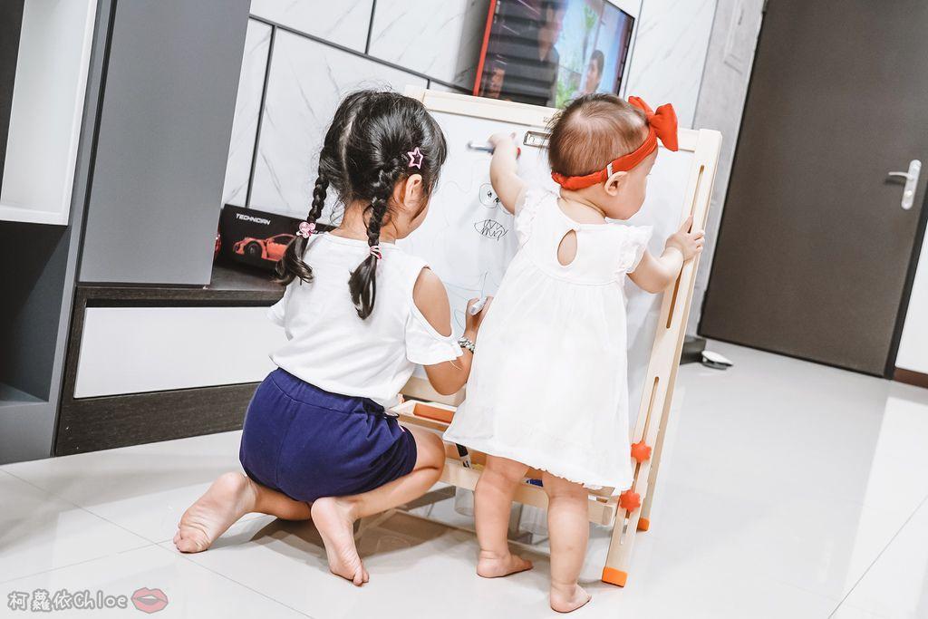 親子好物開箱 Teamson Kids小藝術家梵谷兒童雙面畫架-紅 高質感三用畫板 可調整高度 (限時開團20.jpg