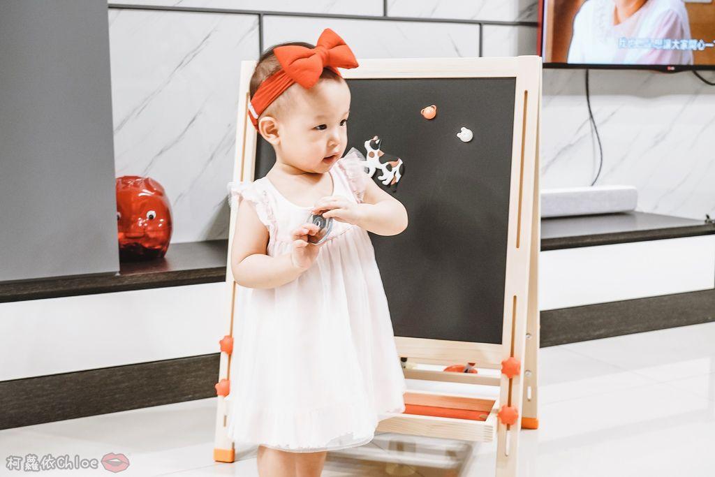 親子好物開箱 Teamson Kids小藝術家梵谷兒童雙面畫架-紅 高質感三用畫板 可調整高度 (限時開團23.jpg