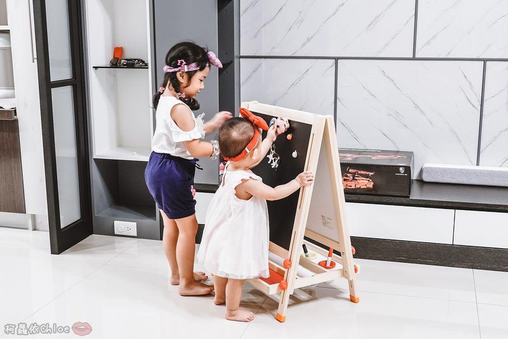 親子好物開箱 Teamson Kids小藝術家梵谷兒童雙面畫架-紅 高質感三用畫板 可調整高度 (限時開團25.jpg