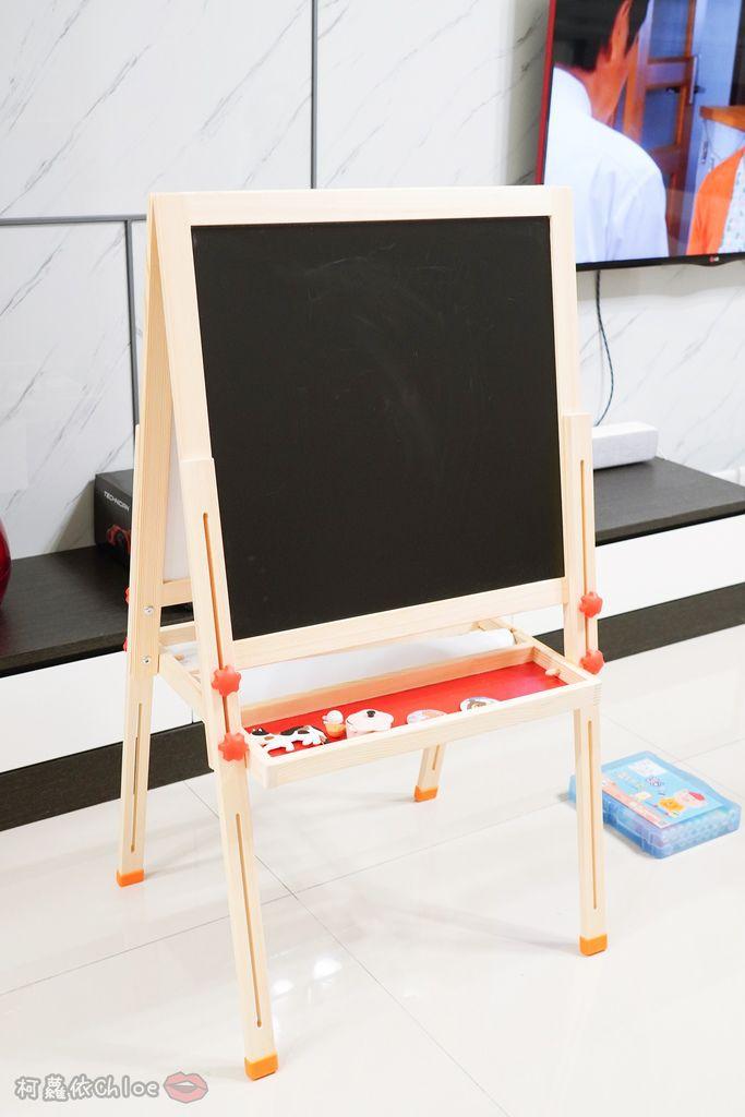 親子好物開箱 Teamson Kids小藝術家梵谷兒童雙面畫架-紅 高質感三用畫板 可調整高度 (限時開團28.jpg