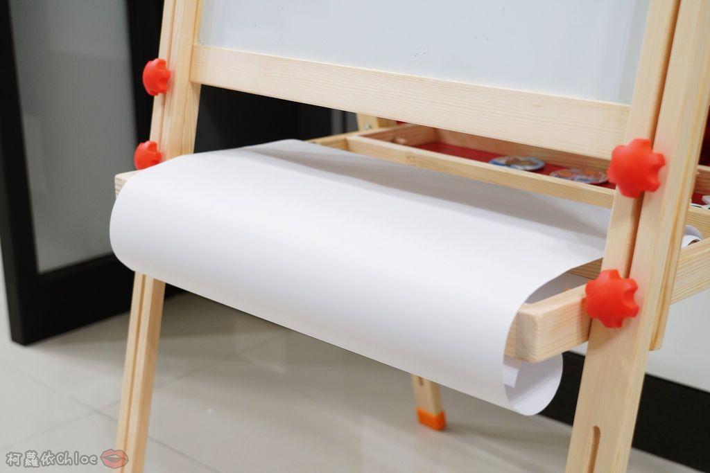 親子好物開箱 Teamson Kids小藝術家梵谷兒童雙面畫架-紅 高質感三用畫板 可調整高度 (限時開團29.jpg