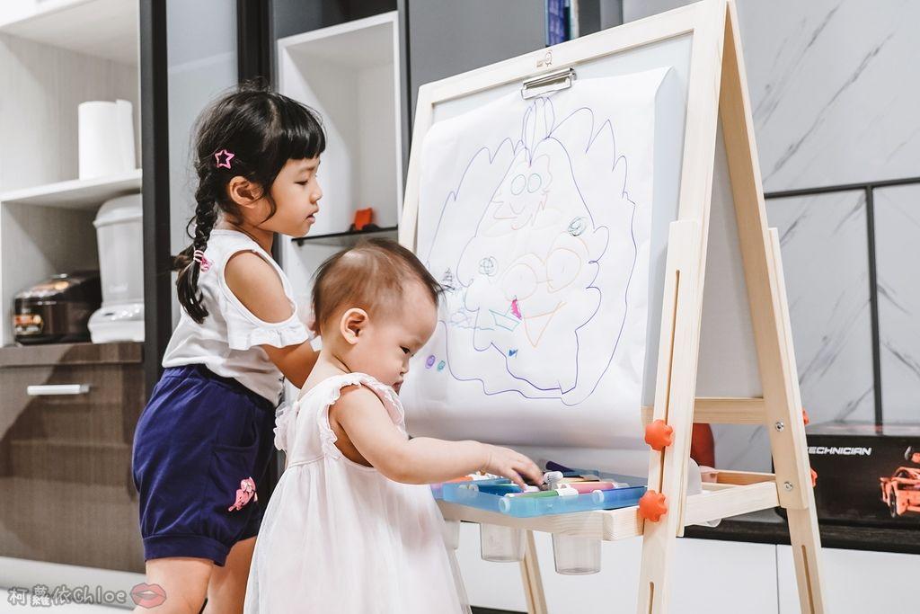 親子好物開箱 Teamson Kids小藝術家梵谷兒童雙面畫架-紅 高質感三用畫板 可調整高度 (限時開團34.jpg