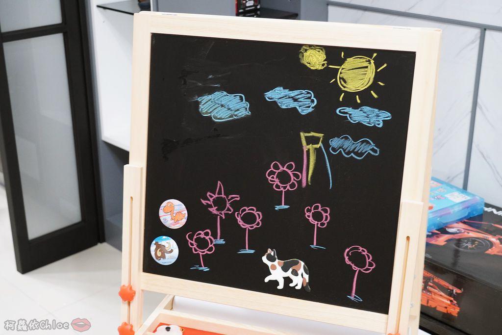 親子好物開箱 Teamson Kids小藝術家梵谷兒童雙面畫架-紅 高質感三用畫板 可調整高度 (限時開團38.jpg