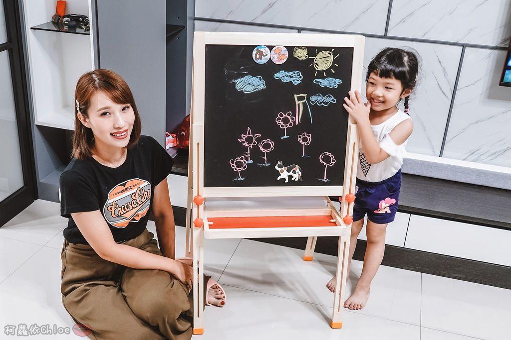 親子好物開箱 Teamson Kids小藝術家梵谷兒童雙面畫架-紅 高質感三用畫板 可調整高度 (限時開團41.jpg