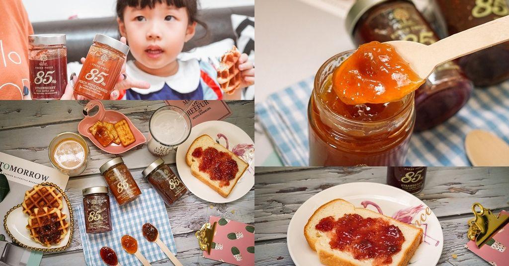 果醬也可以這樣吃!希臘Geodi 85%天然果醬(蜜桃柳橙草莓無花果).jpg