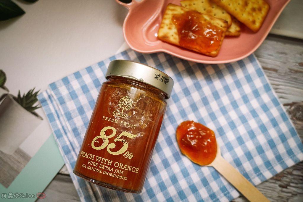 果醬也可以這樣吃!希臘Geodi 85%天然果醬(蜜桃柳橙草莓無花果)5.jpg