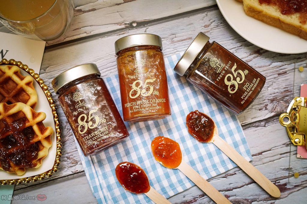果醬也可以這樣吃!希臘Geodi 85%天然果醬(蜜桃柳橙草莓無花果)2.jpg