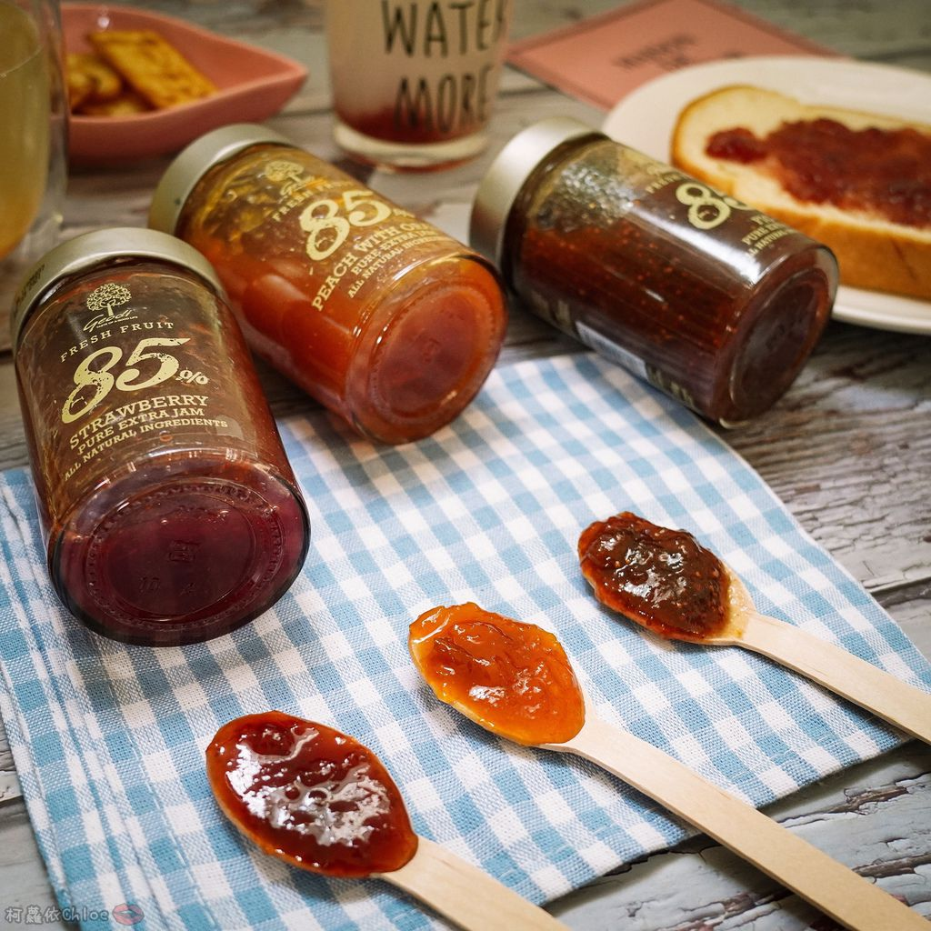 果醬也可以這樣吃!希臘Geodi 85%天然果醬(蜜桃柳橙草莓無花果)4.jpg