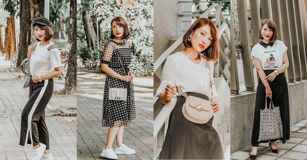 穿搭 流行前線 Popular Front 輕熟女風格服飾這裡買 黑白經典搭配LOOKBOOK.jpg