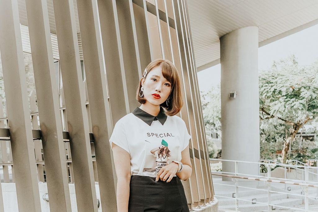 穿搭 流行前線 Popular Front 輕熟女風格服飾這裡買 黑白經典搭配LOOKBOOK17.jpg